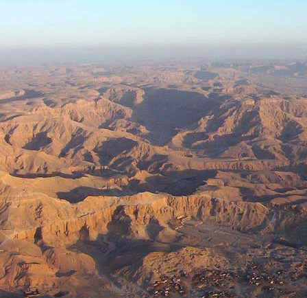 Rugged Mountains on the West Bank