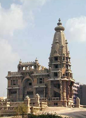 The Baron's Palace in Heliopolis in Egypt