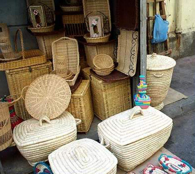 A variety of Modern Egyptian Baskets
