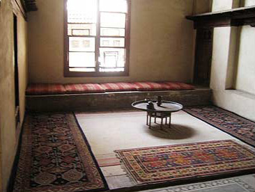 A room in the salamlek of the house