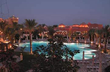 The Grand Resort at Hurghada on Egypt's Red Sea Coast