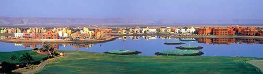 The Resort Village of El Gouna, an upscale community on Egypt's Mainland Red Sea Coast