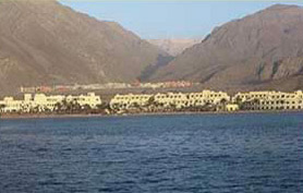 A view of a section of Taba Heights