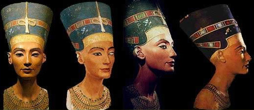The Bust of Nefertiti, now in Berlin