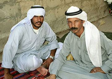 Bedouin tour guides