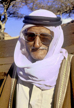 Sheikh Barakat, now deceased, was the leader of the Alagat tribe