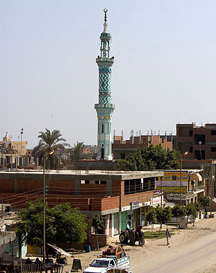 A local mosque at Benha, Egypt
