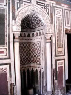 The marble Mihrab