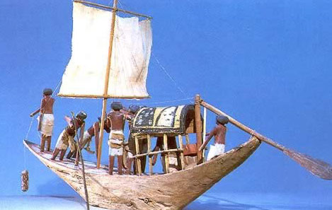 Model of a Boat from the 12th Dynasty