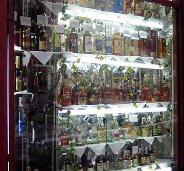 A show full of booze in Cairo