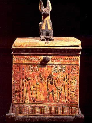 Canopic Chest of Queen Nedmet