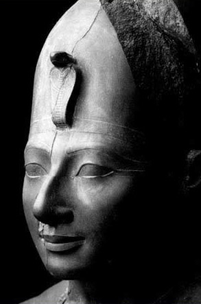 Face of a Striding Statue of Tuthmosis III