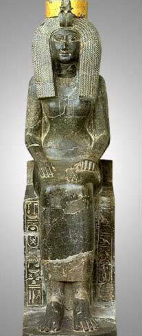 Seated Statue of Isis, Mother of Tuthmosis III