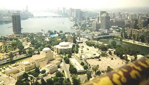 Cairo from the (Cairo) Tower