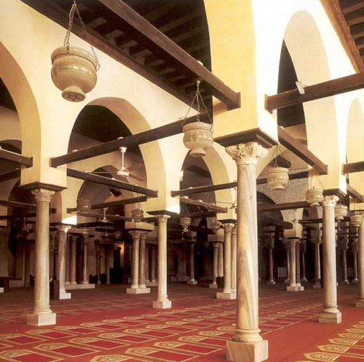 Prayer Hall in the Mosque of al-Azhar (969-1894)