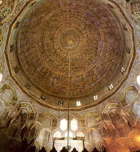 Dome Home Interiors: Egypt: Interior Dome Of The Mausoleum Of Shafi'i (1211