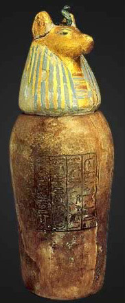 Canopic Jar from the Tomb of Psusennes