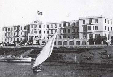 The Old Winter Palace in Luxor, still going strong today