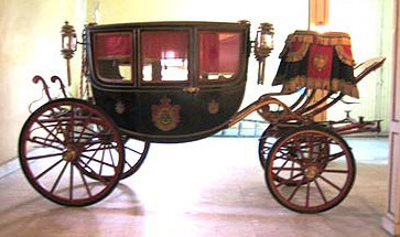 The carriage of King Fuad I