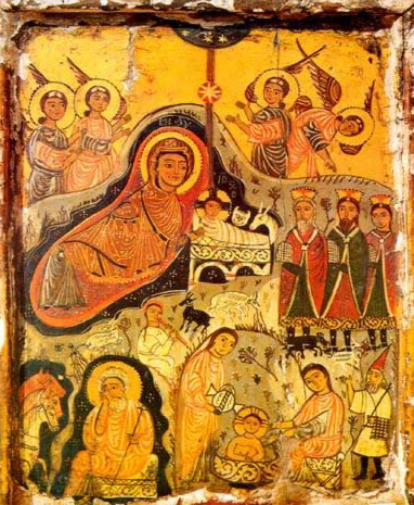 The Nativity - Icon in the Monastery of St. Catherine