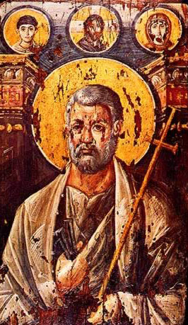 St. Peter the Apostle - Icon in the Monastery of St. Catherine