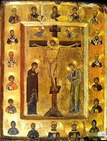 The Crucifixion - Icon in the Monastery of St. Catherine