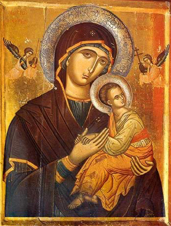 The Virgin of the Passion - Icon in the Monastery of St. Catherine