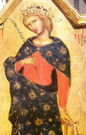 St. Catherine - Icon in the Monastery of St. Catherine