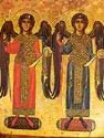 The Archangels Michael and Gabriel