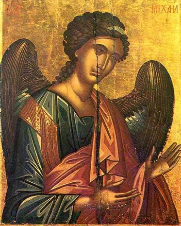 The Archangel Michael - Icon in the Monastery of St. Catherine