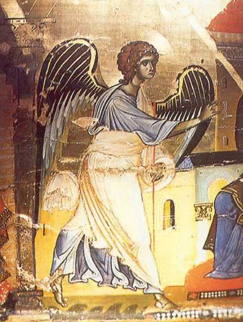 The Archangel Gabriel - Icon in the Monastery of St. Catherine