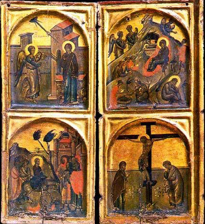 Life of Christ - Icon in the Monastery of St. Catherine