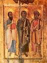Apostles Paul, Andrew and Peter