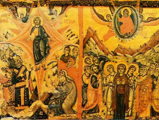 The Anastasis and the Ascension - Icon in the Monastery of St. Catherine