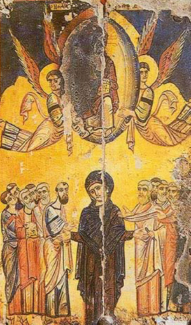 The Ascension - Icon in the Monastery of St. Catherine