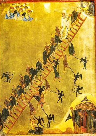 "The ""Ladder to Heaven"" - Icon in the Monastery of St. Catherine"
