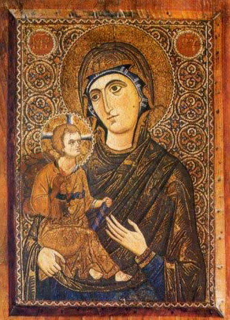The Virgin - Icon in the Monastery of St. Catherine