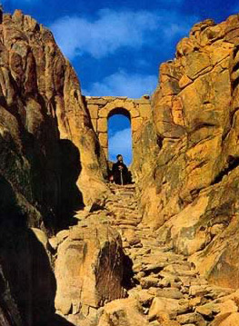 The Gate of Confession on Mount Sinai
