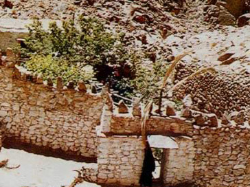 The hermitage of St. Episteme near the Monastery of St. Catherine in the Egyptian Sinai