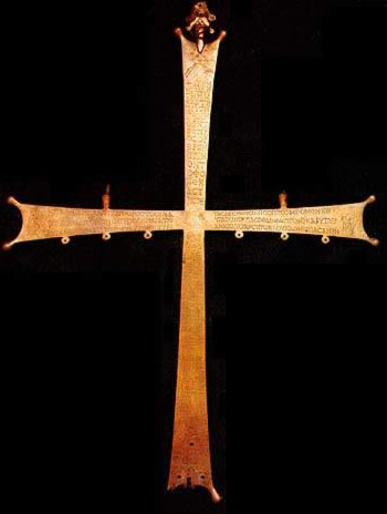 Large Broze Cross - A part of the collection of artifacts belonging to the Monastery of St. Catherine