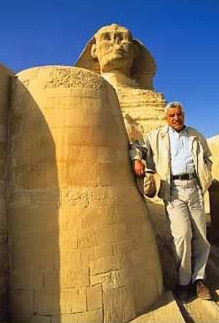 What is under the sphinx