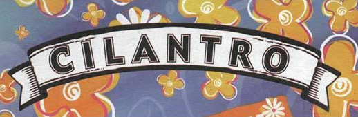 The Cilantro Coffee Shop Logo