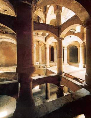 The cistern of el-Nabih in Alexandria