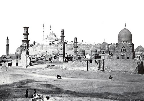The Citadel & South Cemetery of Old (circa 1856)