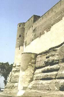Fortification of the Northern Enclosure