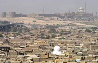 Another view of a Cairo City of the Dead