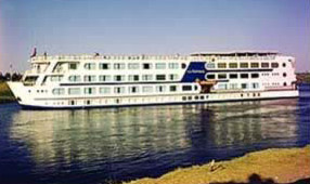 One of the Movenpick Nile Cruise Boats, ture floating Hotels