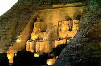 Abu Simbel in  the very southern part of Egypt is one of its most famous Temples