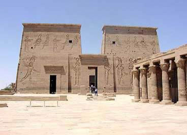 The Temple at Philae