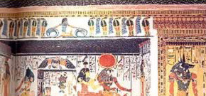 The paintings extant in the beautiful tomb of Nefertari are excellent examples of the symbolic and practical uses of color.